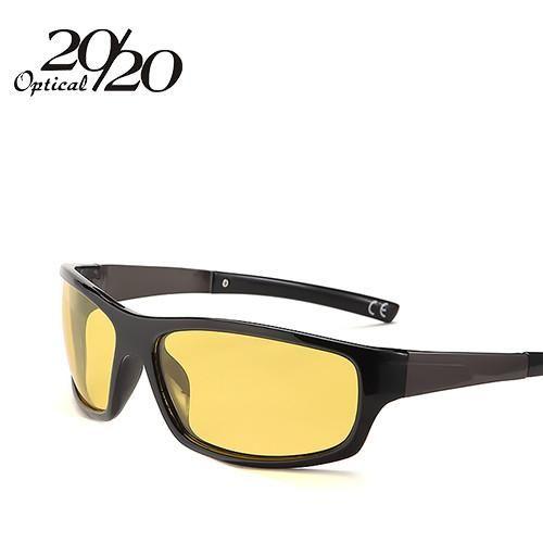 edce79a23 20/20 New Night Vision Sunglasses Men Brand Designer Fashion Polarized Night  Driving Enhanced Light