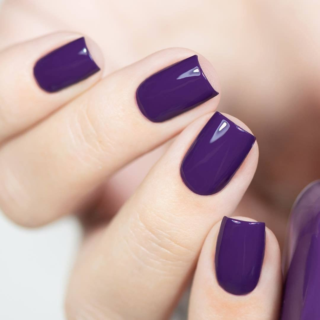 """Zoya Nail Polish on Instagram: """"Looking for a gorgeous purple shade this spring? Treat yourself to #ZoyaChiara! 💜 Plus, learn how to trade in your old polish for new Zoya…"""""""