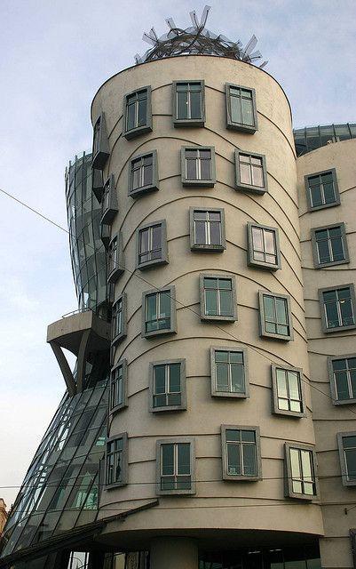 Dancing Wave Building, Czech Republic, Prague