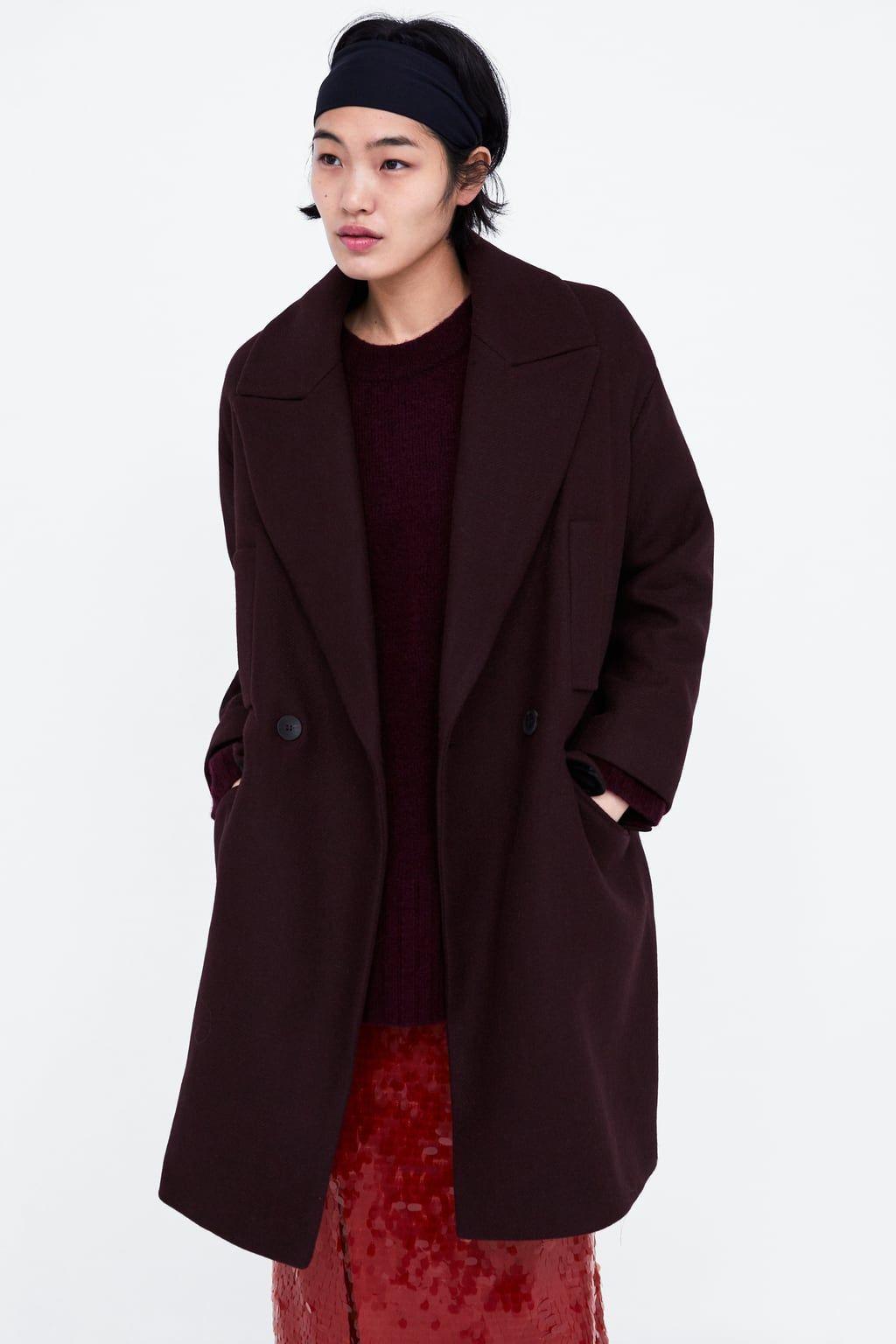 Imagen 2 2019 Zara De Cruzado Bolsillos En Abrigo xtsdhBrCQo