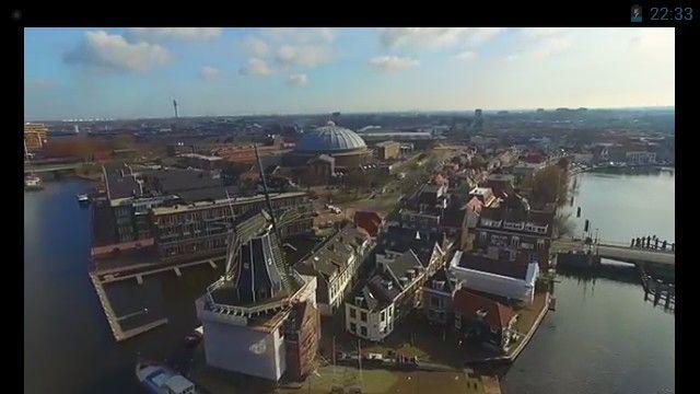 Molen Adriaan + Koepel, Haarlem, netherlands