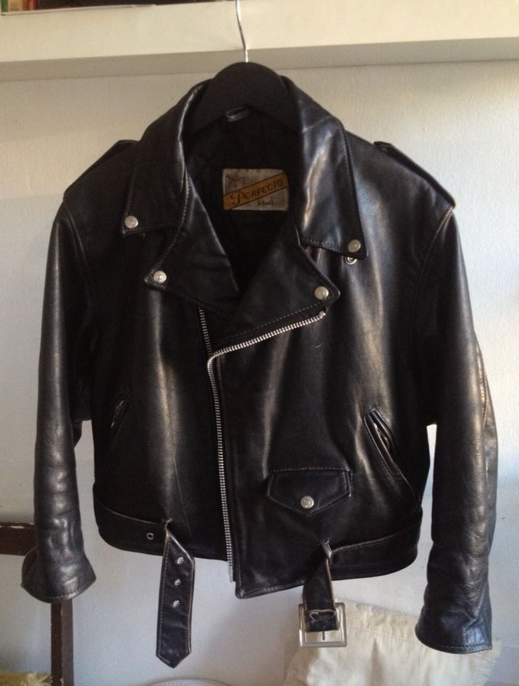 835bdb89446 SCHOTT PERFECTO VINTAGE LEATHER MOTORCYCLE JACKET SMALL SIZE 12 MADE IN THE  USA  Schott  Motorcycle