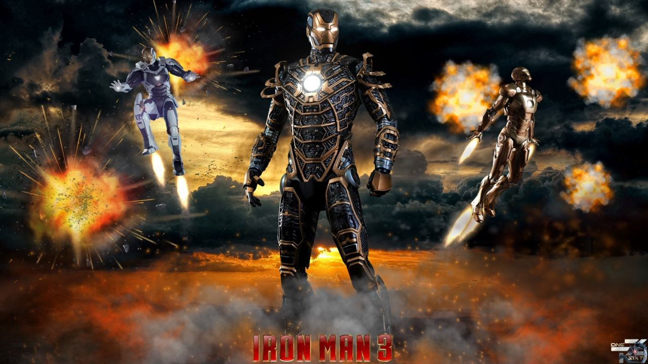 Free Download IRON MAN Full HD Wallpapers Wallpaper 1600x1000 Iron Man 3 44