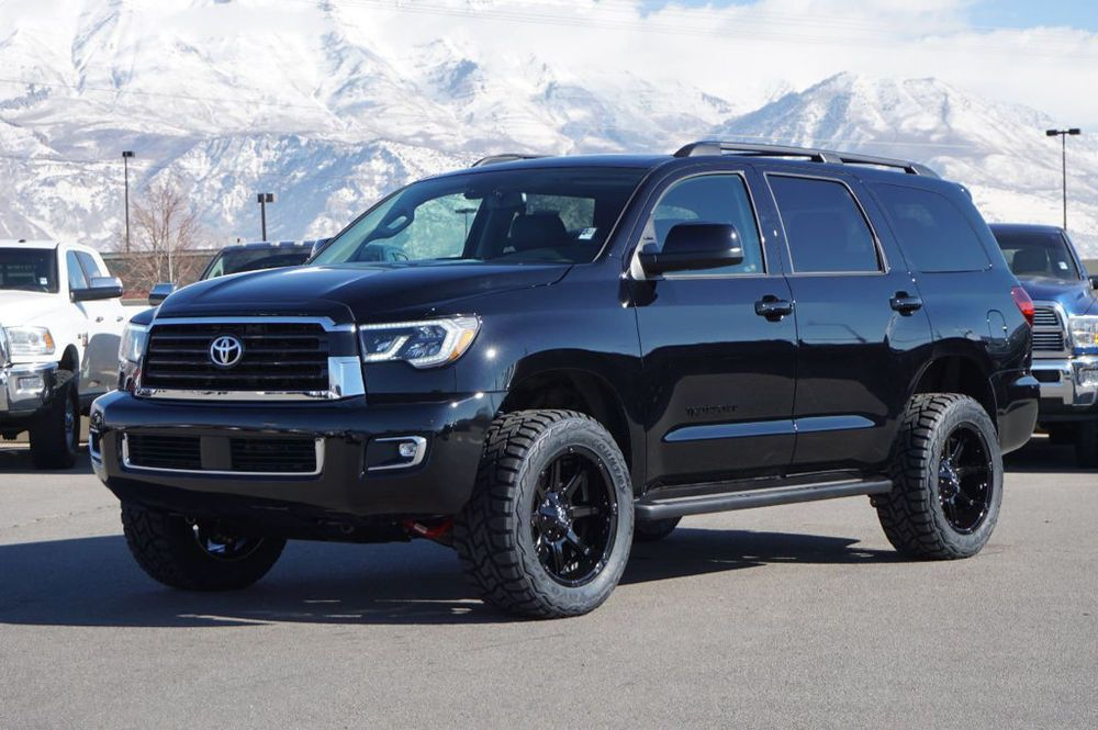 2018 Toyota Sequoia TRD SPORT Lifted SUV Sequoia Limited ...