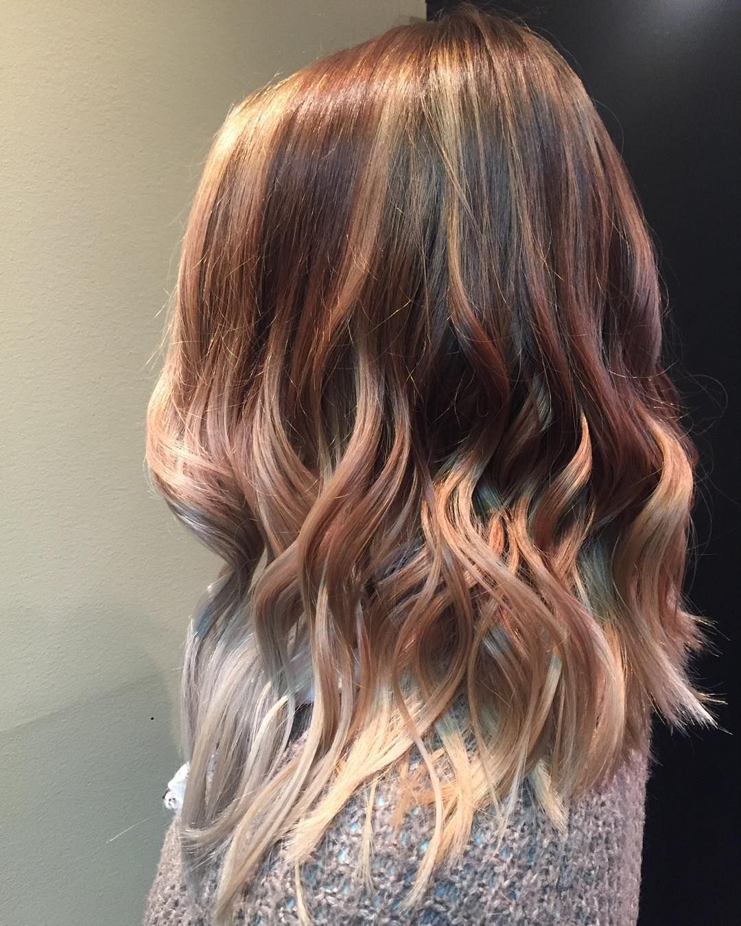 inspirational red and blonde hair trend ideas for