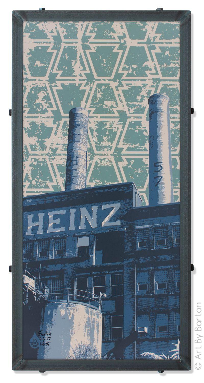 Heinz Factory Cool works, Heinz, Art