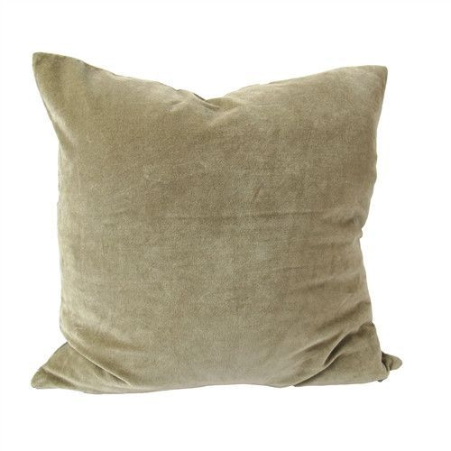 Washed Velvet Pillow No. 4