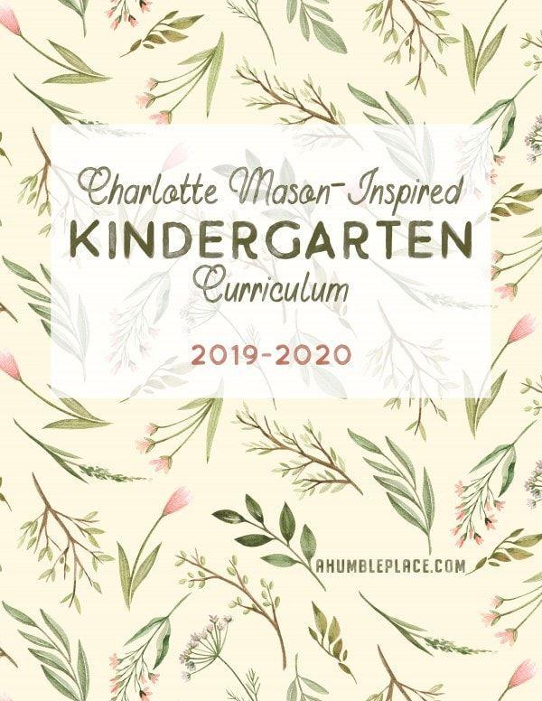 Photo of Charlotte Mason-Inspired Kindergarten Curriculum