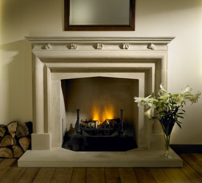 Hollington Stone Bolection Fireplace With Carved Detail Staffordshire Stone Fireplace Designs Carving Fireplace Design