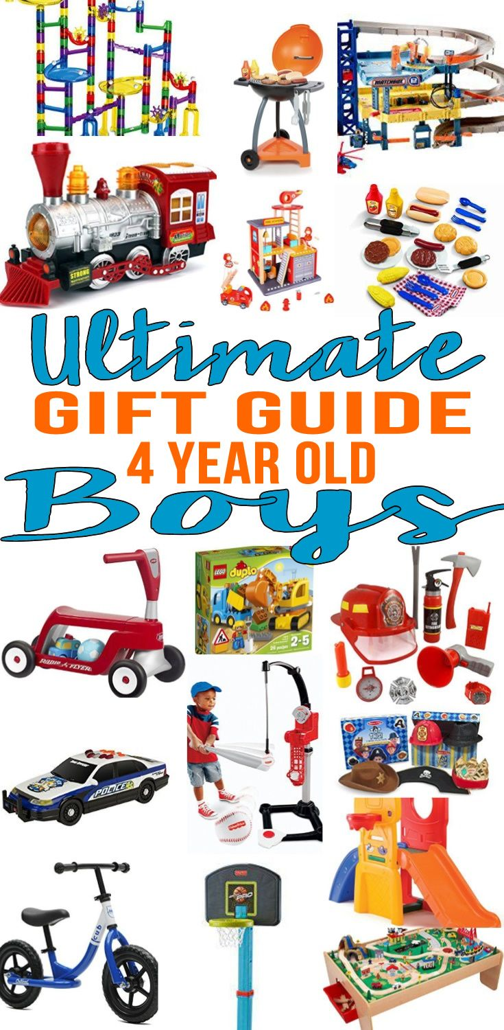 Best Gifts 4 Year Old Boys Will Love | 4 year old boy ...