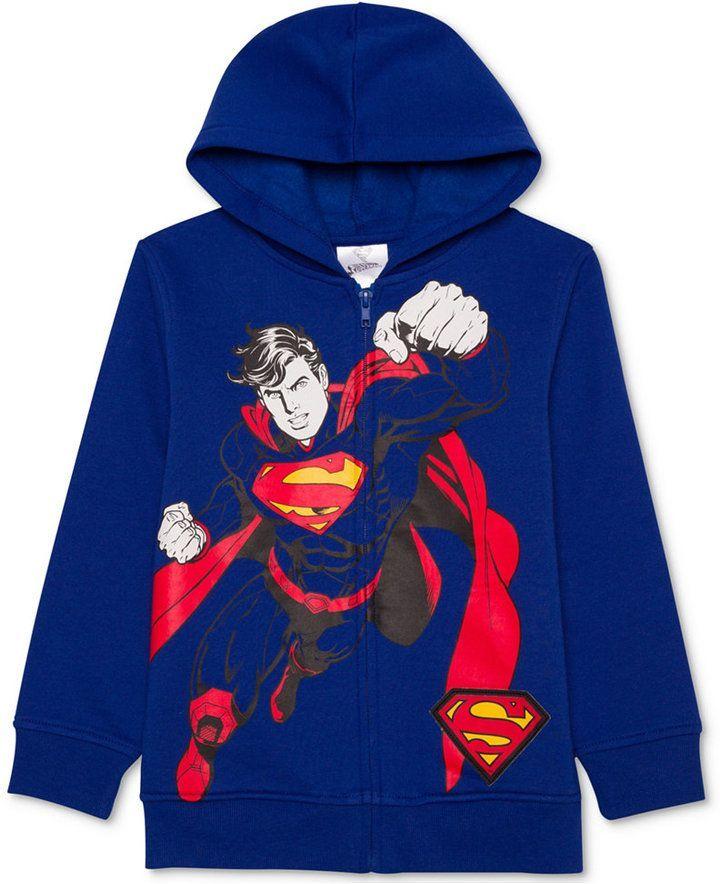 03d9129aadc3 Dc Comics Superman-Print Hoodie