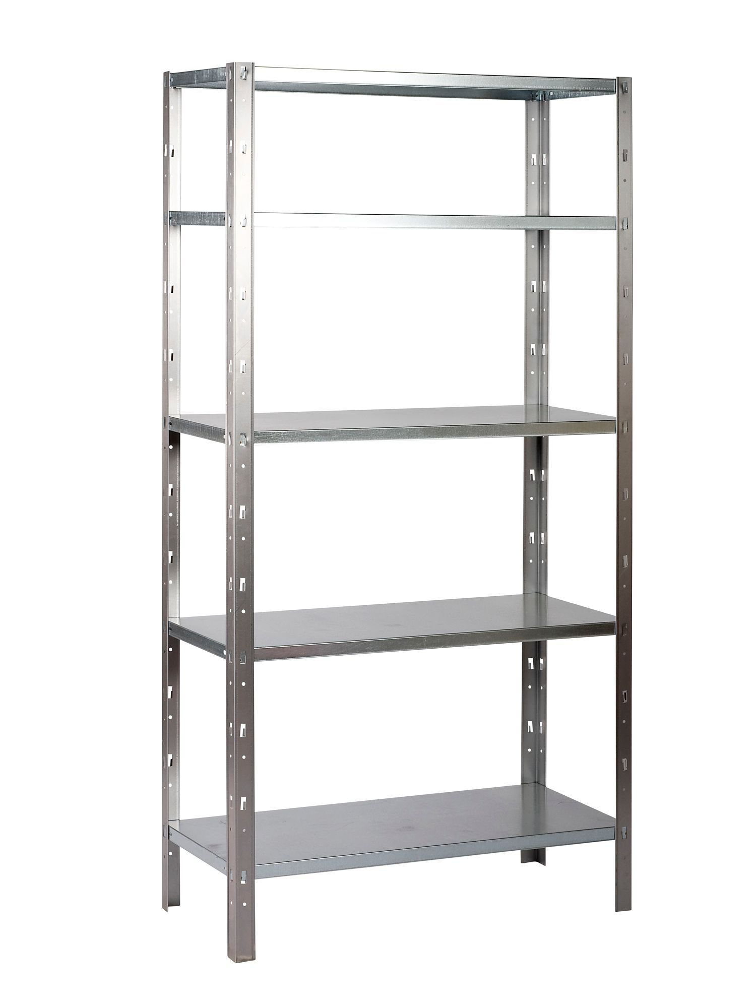 B Q 5 Shelf Steel Shelving Unit