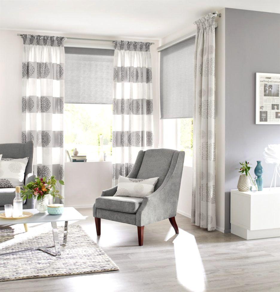 ideen für gardinen im wohnzimmer