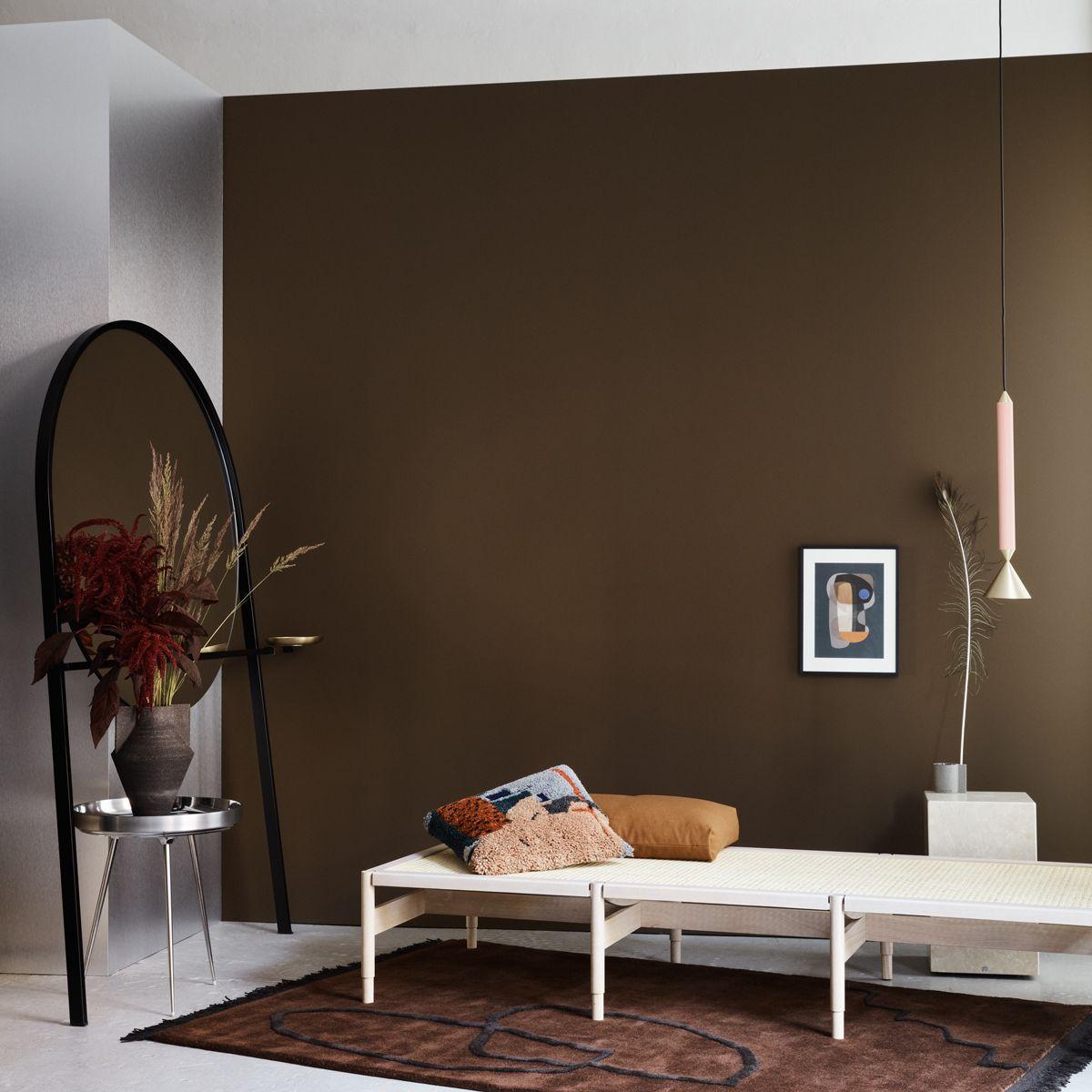 Farbe Schlamm Wandfarbe Braun Taupe Zimmer Wohnen
