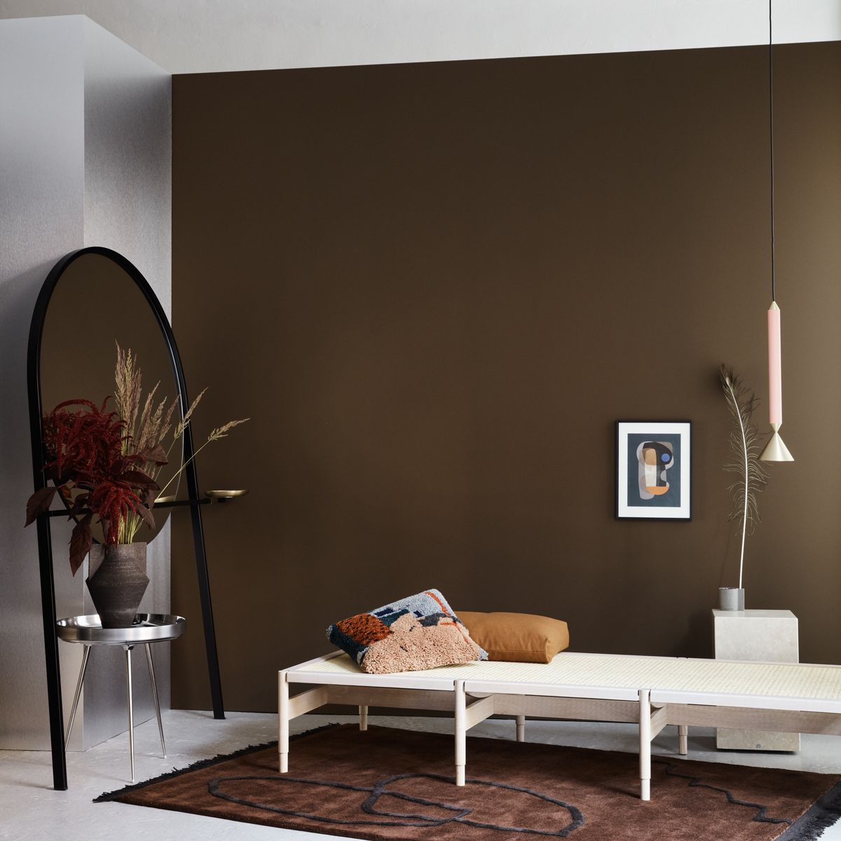 Farbe Schlamm Wandfarbe Braun Wandfarbe Taupe Zimmer