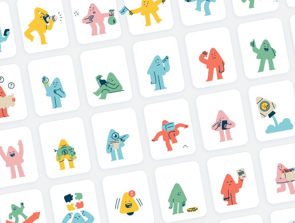西奥插图包— —在UI8上的插图 in 2020 Illustration, Fun illustration