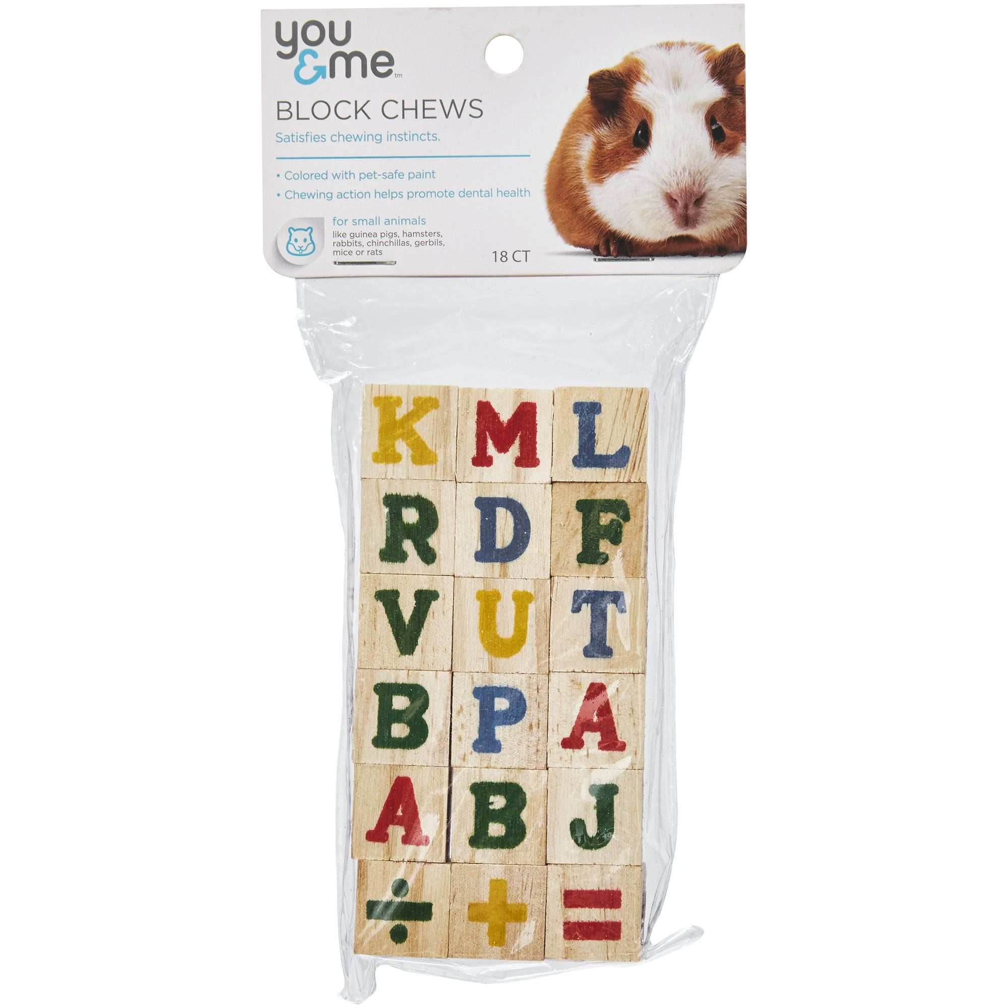 You Me Large Block Chews For Small Animal 2 19 Oz Animals Your Pet Pet Supplies