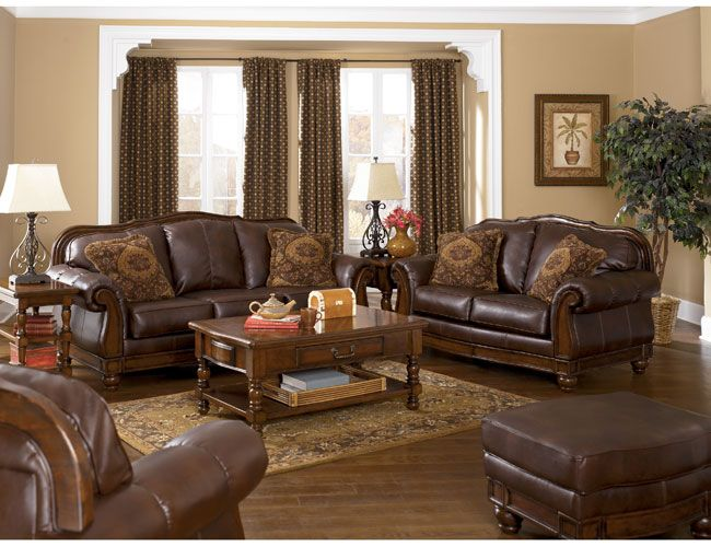 Really Wish I Had This Old World Couch And Loveseat Living Room