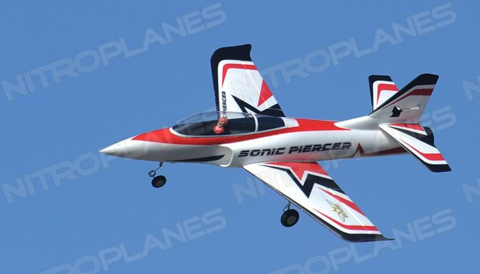 Airfield Sonic Piercer 64mm EDF Airplane Jet Ready to Fly RC 4