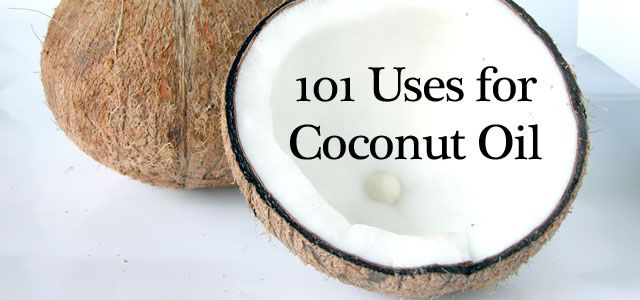 101 Uses for Coconut Oil to support hair skin and health @Amy Wilkinson