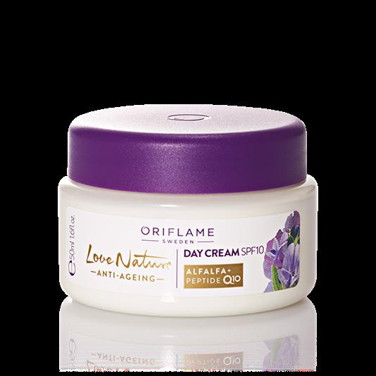 Creme De Dia Com Fps 10 Antienvelhecimento Love Nature Top Anti Aging Products Anti Aging Skin Products Anti Aging
