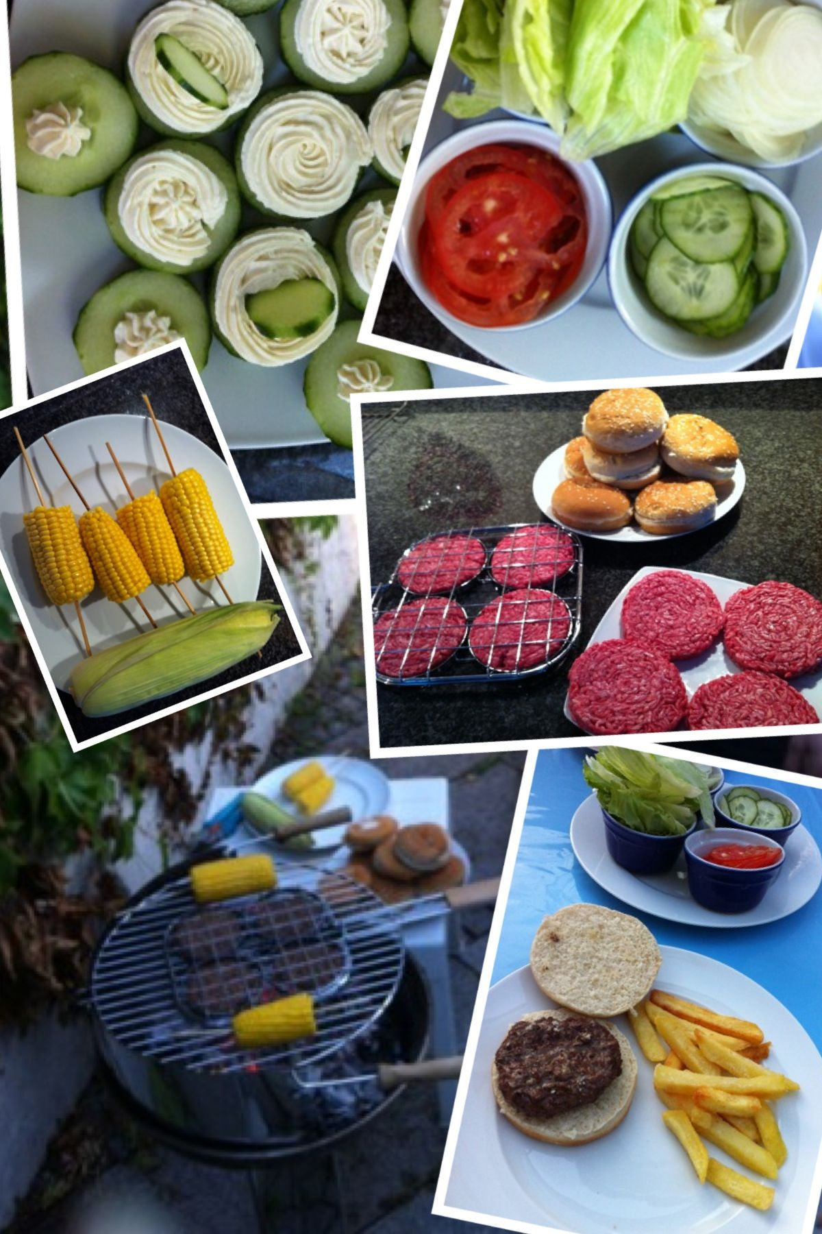 We Germans really tend to overcook our corn cobs...grilling it with the husk was perfect!