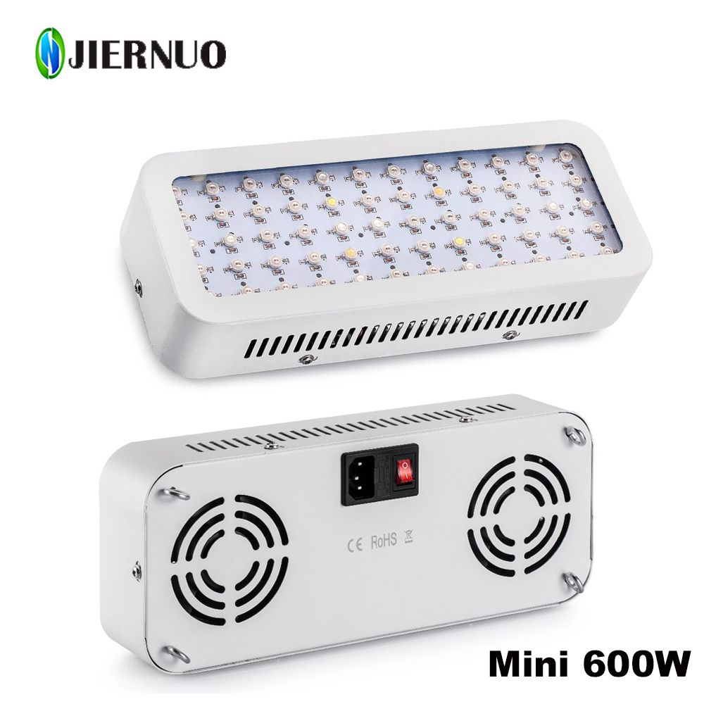 Led Plant Light Mini 600w Full Spectrum Red Blue Uv Ir White Led Plant Grow Hydroponics Systems