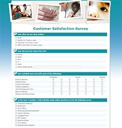 Survey Templates Sample  Evaluacin Y Medicin De Resultados