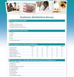 Survey Templates Sample  Evaluacin Y Medicin De Resultados