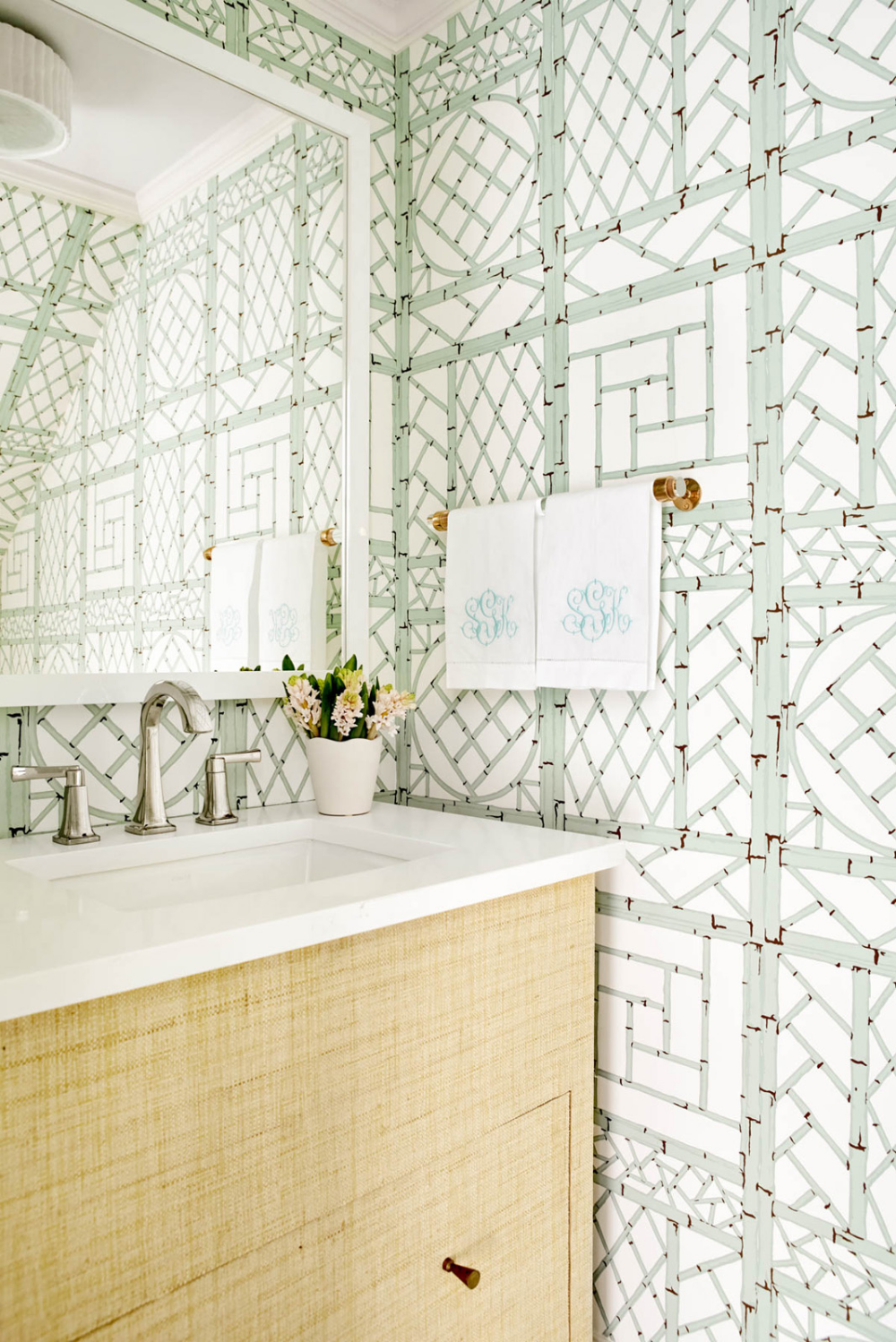 Powder Room By Amy Kartheiser Design: Amy Berry Design (With Images