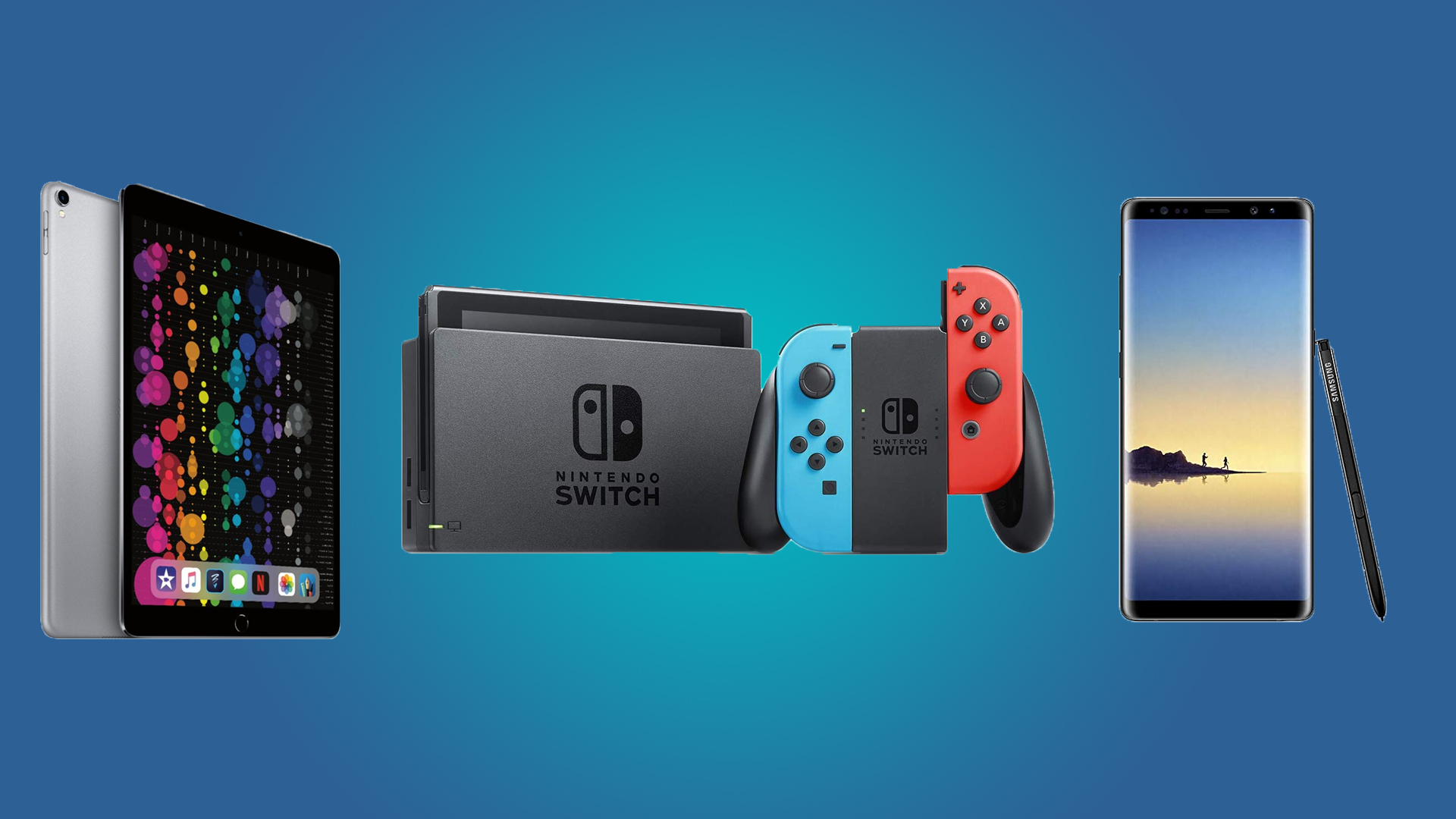 Daily Deals Nintendo Switch Consoles and Games, the iPad