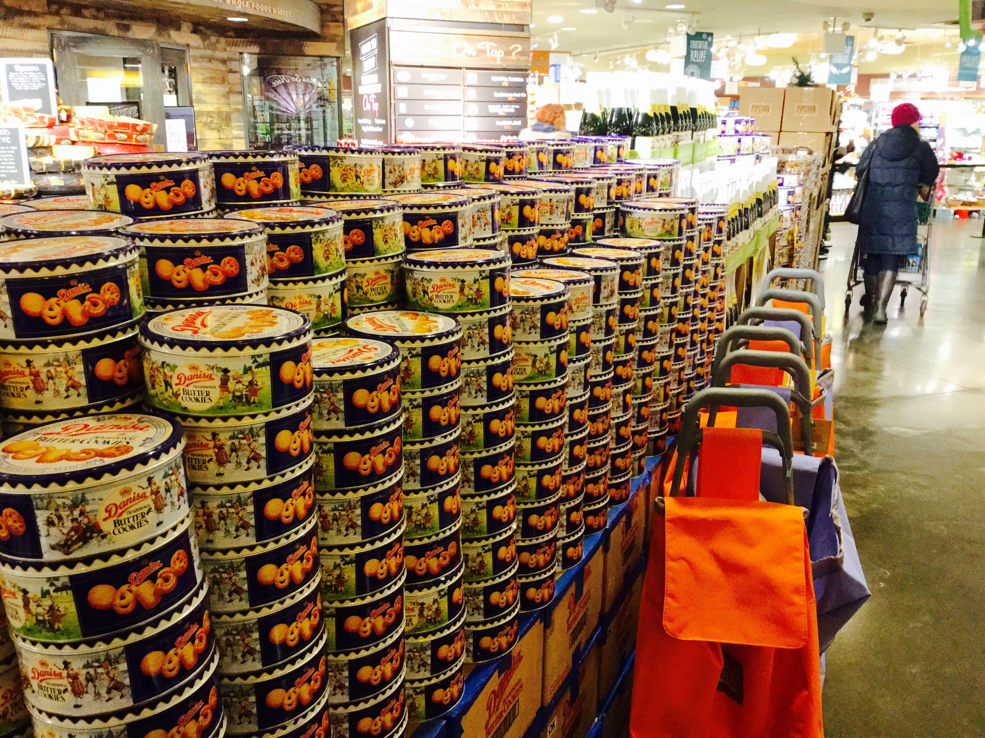 Danisa stack in wholefoods market columbus circle