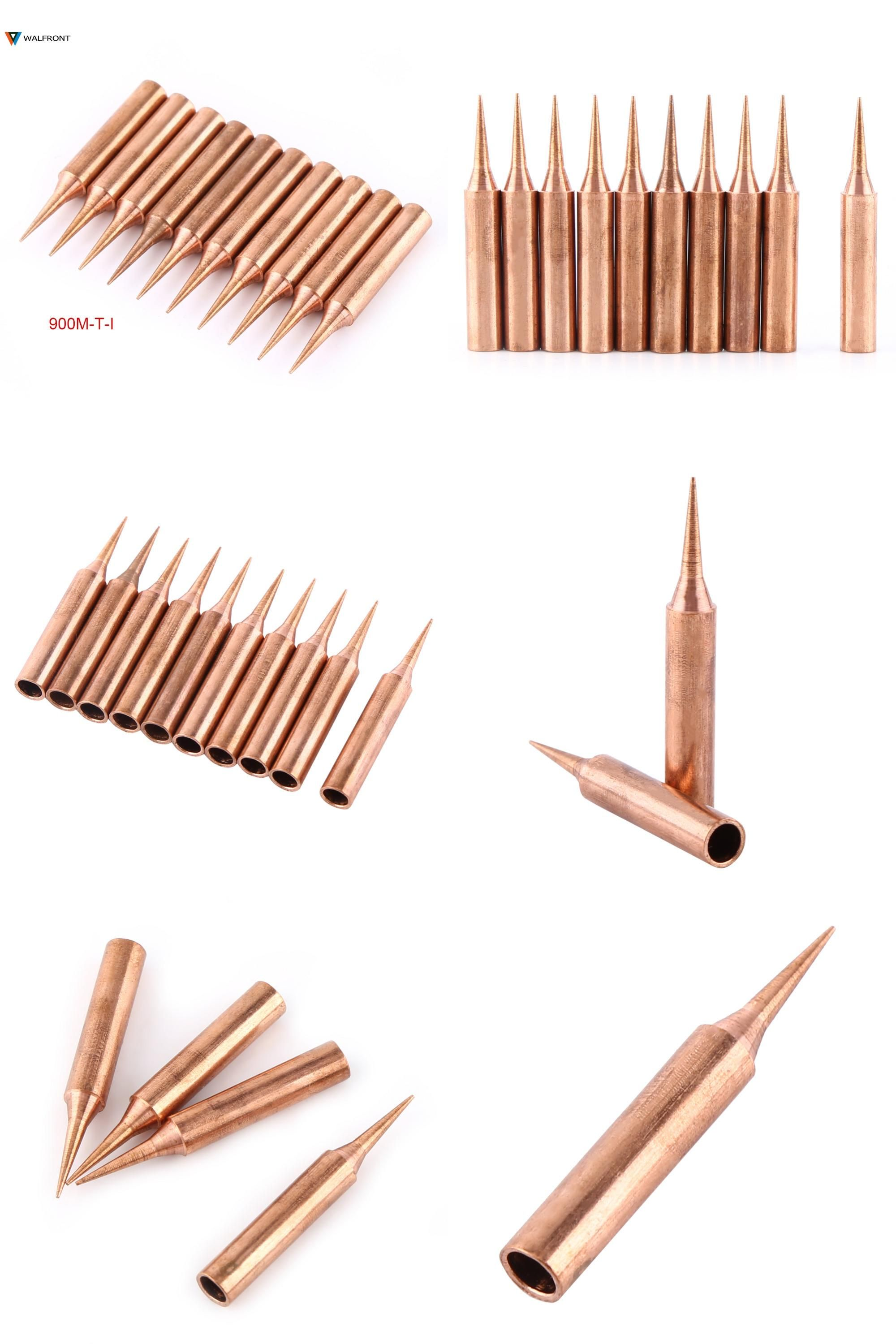 Visit to buy pcsset pure copper soldering iron tip low
