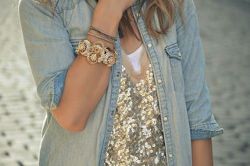 casual sequins