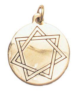 Heptagram mystic star charm for harmony in love friendship heptagram mystic star charm for harmony in love friendship brass copper pendant representing aloadofball Choice Image