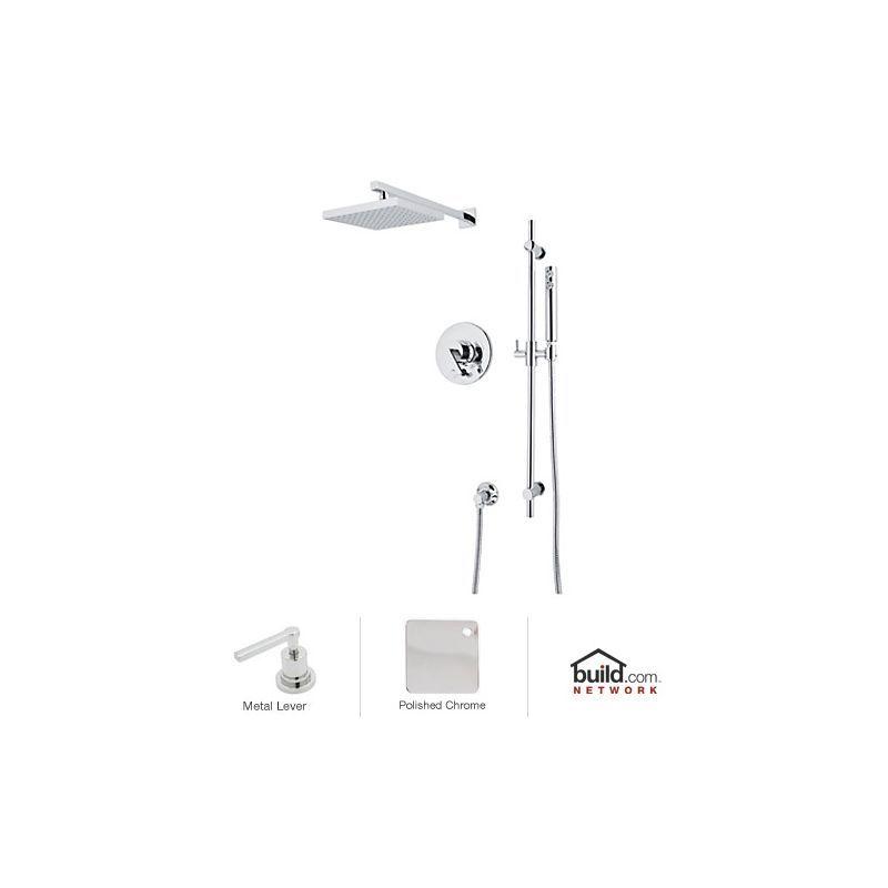 Rohl WAVEKIT37L Wave Shower System with Pressure Balanced Valve Trim ...