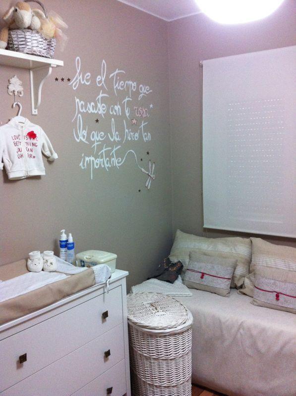 Decoraci n dormitorio beb portarretratos decoupage - Pintura habitacion bebe nina ...