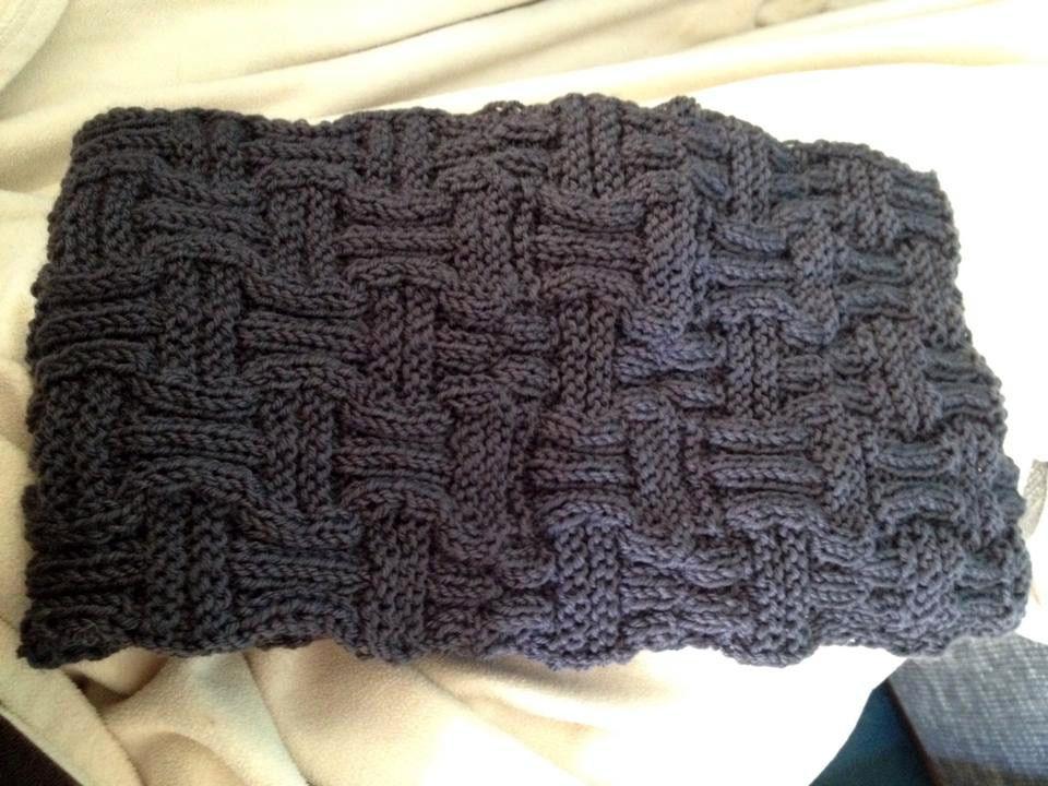 Schal im Flechtmuster | Strickanleitungen, Schals und Muster