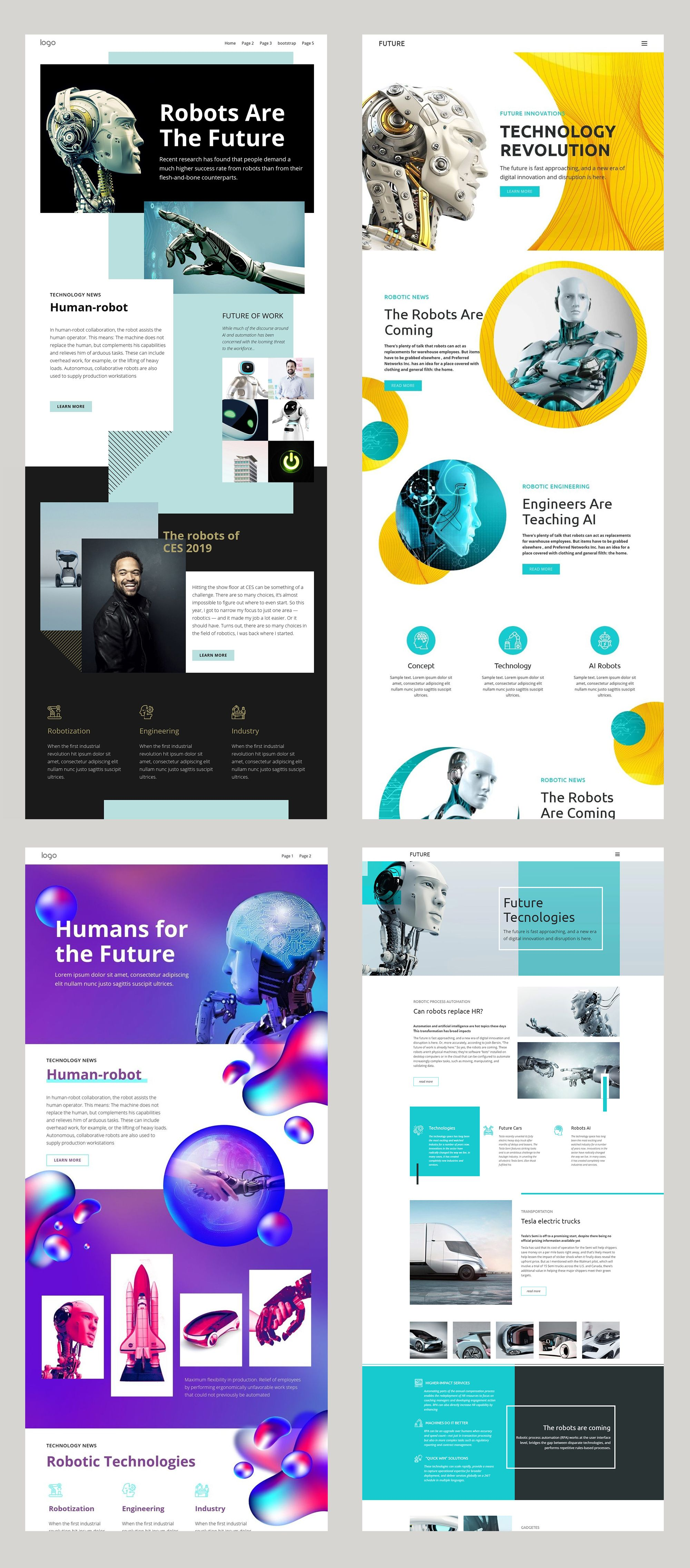 Free Templates By Nicepage Builder Web Design School Newsletter Design Layout Web Layout Design