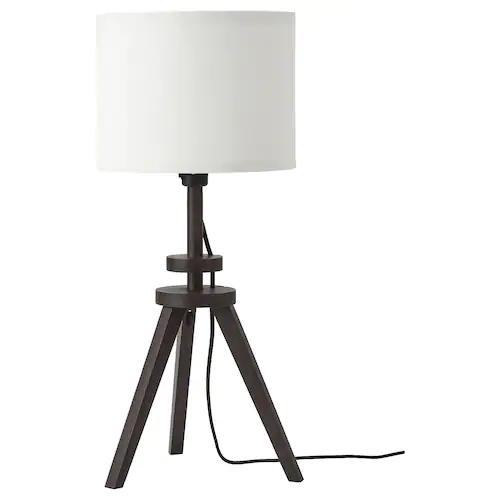 Mylinge Lampe De Table Blanc Bois Ikea Lampes De Table Lampe De Table Blanche Ikea