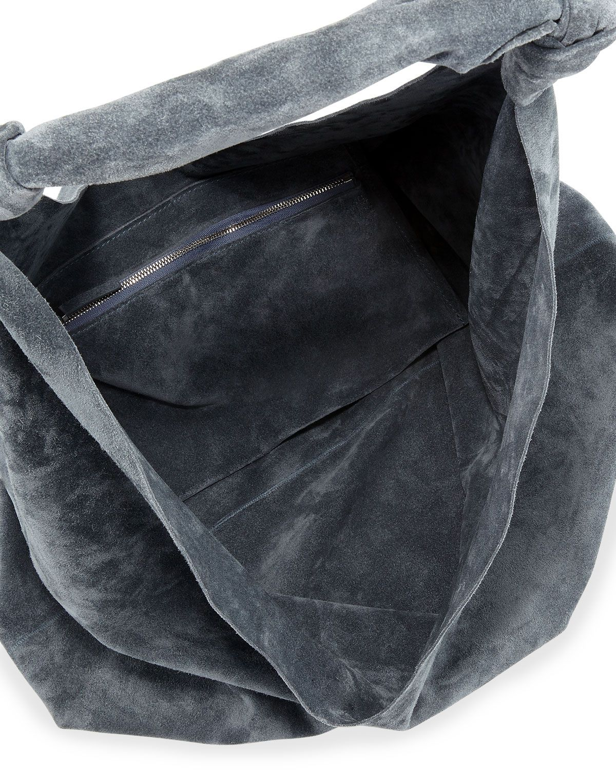 929a63d7b5c9 The Row Bindle Double-Knots Suede Hobo Bag