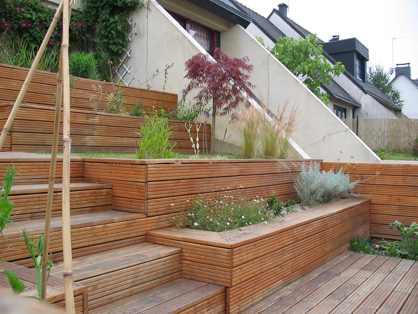 terrasse en bois  Recherche Google  exterieur  ~ Terrase En Bois
