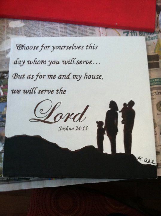 Bible verse quote painting. $35.00, via Etsy.