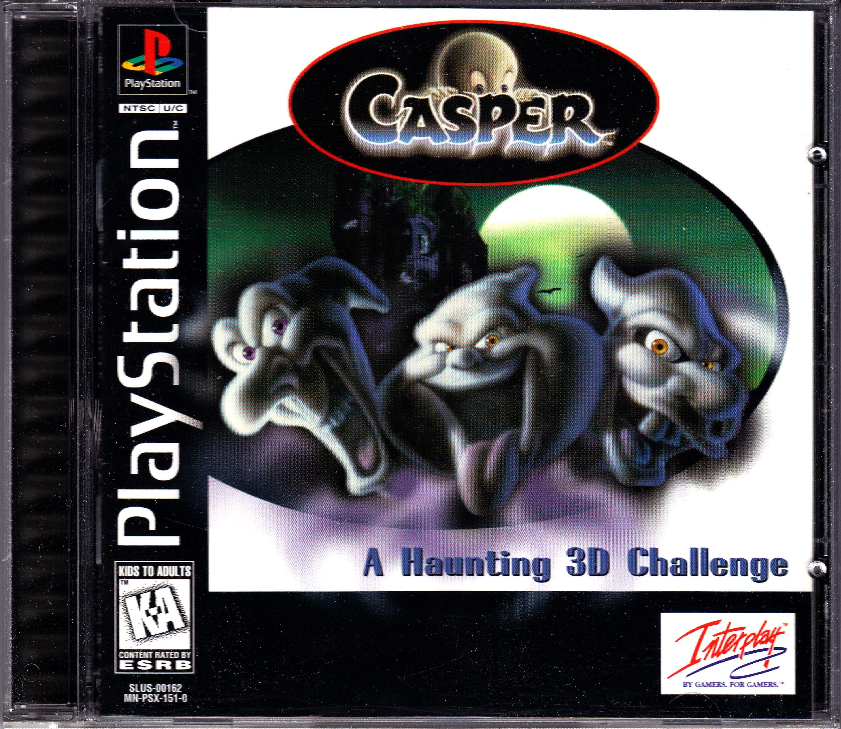 Casper Playstation Casper Game Black