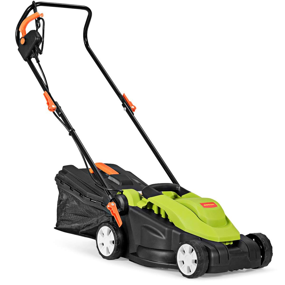 Goplus Electric Lawn Mower W Folding Handle And Detachable Collection Box Learn More By Visiting The Image Link It Is An A In 2020 Lawn Mower Collection Box Mower