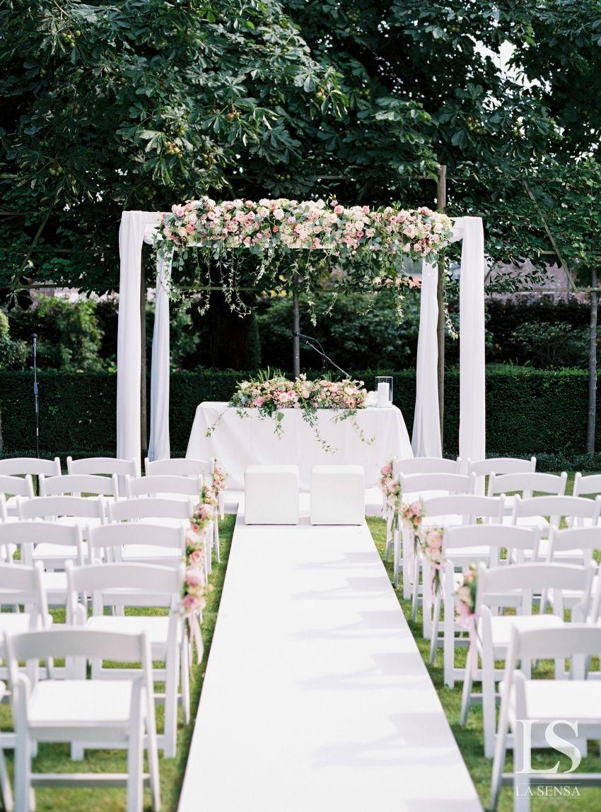 bruiloft ceremonie