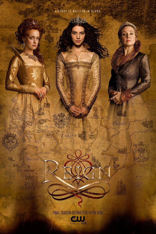 Reign Season 4 Trailers Images And Poster Com Imagens Temporadas