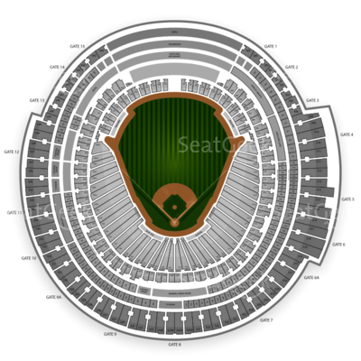 Rogers Centre Seating Chart Toronto Blue Jays Toronto Niagara - Blue jays seating chart