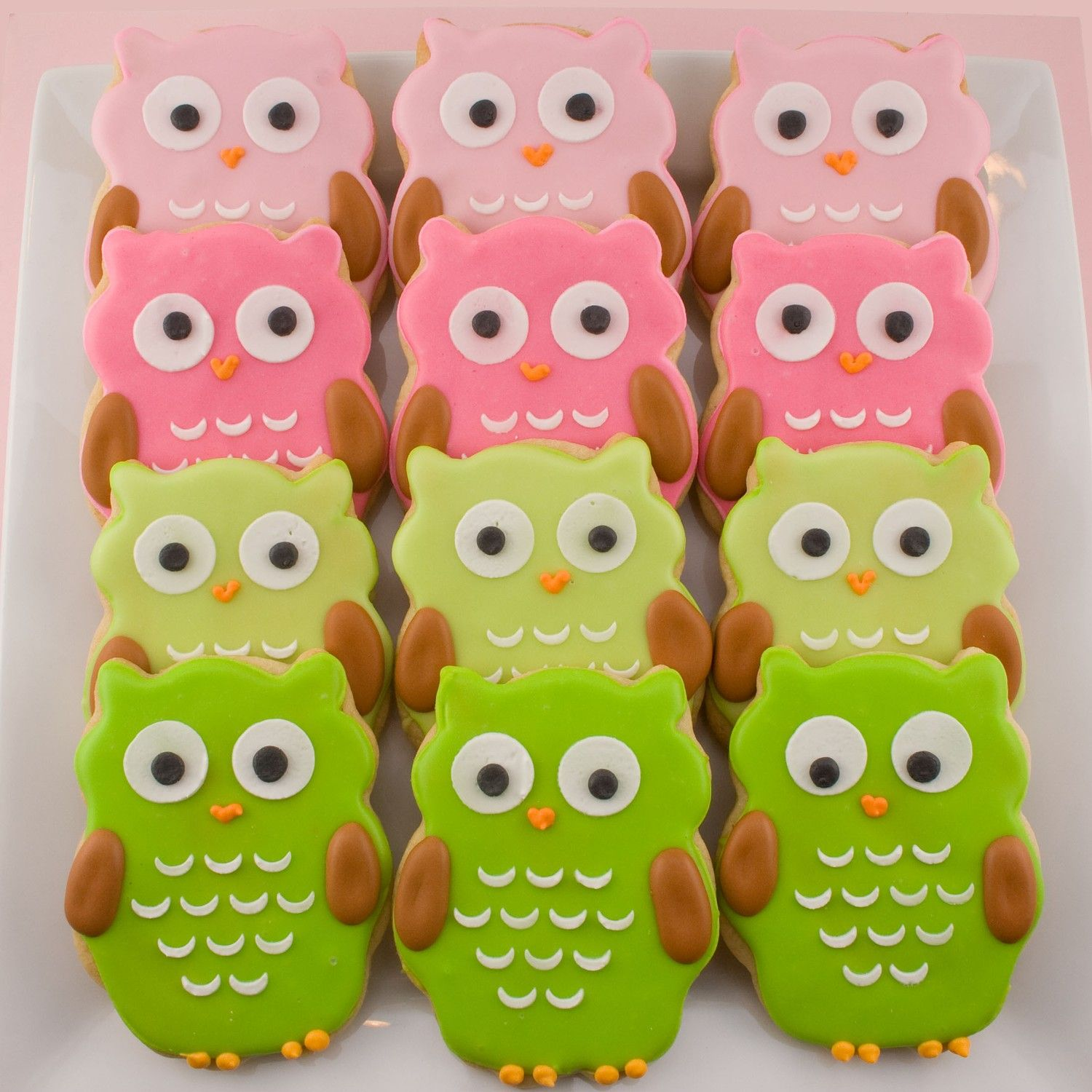 Owl Decorated Cookies Owl Sugar Cookies Baking Decorating Ideas Pinterest Sugar