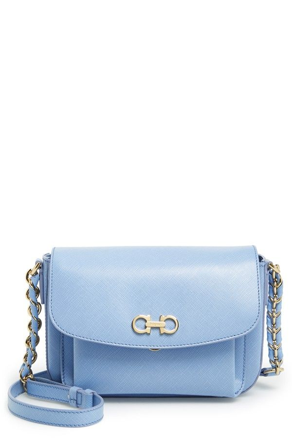 93de9876ab Salvatore Ferragamo  Sandrine  Leather Shoulder Bag